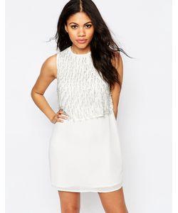 Glamorous | Цельнокройное Платье Без Рукавов Кремовый
