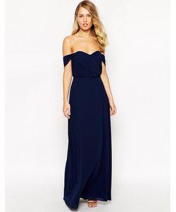 JARLO | Платье Макси С Открытыми Плечами Florance
