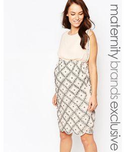 Maya Maternity | Платье-Футляр С Отделкой Premium