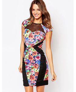 Amy Childs | Платье С Цветочным Принтом Serena Мульти
