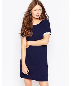 Poppy Lux | Платье-Туника С Отделкой Кроше Valerie