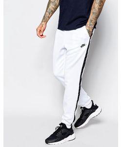 Nike | Белые Спортивные Брюки Скинни Tribute 678637-100