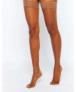 Nubian Skin | Чулки 10 Ден На Резинках Корица