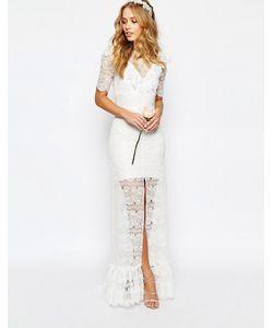 Body Frock | Свадебное Платье С Ромашками Слоновая Кость