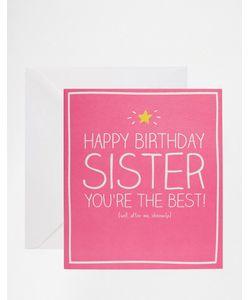Happy Jackson | Открытка Сестре На День Рождения