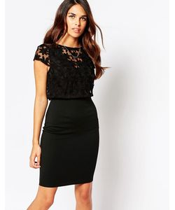 Lipstick Boutique | Платье С Вышивкой На Накладке Kylie
