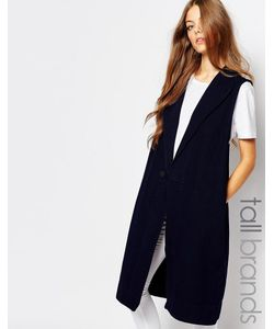 Waven Tall | Длинное Пальто Без Рукавов Isa