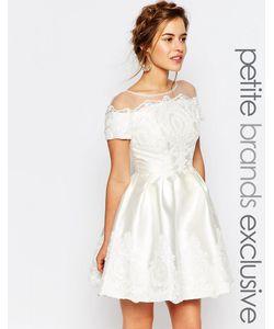 Chi Chi Petite   Свадебное Платье Мини Chi Chi London Petite