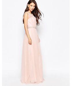 Key Collections | Красивое Платье Ashley Roberts Специально Для Розовый