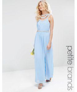 TFNC Petite | Платье Макси С Отделкой Wedding