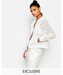 Story of Lola | Куртка-Oversize С Капюшоном И Цветочным Дизайном