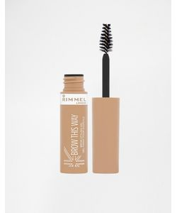 Rimmel London | Гель Для Бровей Brow This Way Blonde