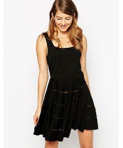Ukulele | Платье Poppy Черный