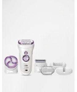 Braun | Эпилятор С Чистящей Щеточкой Silk-Epil 9 Wet Dry Skin-Spa