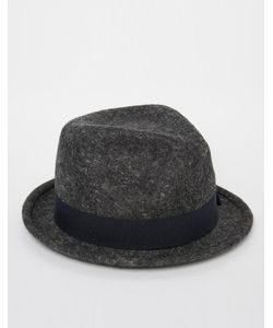 Catarzi | Шляпа С Круглой Плоской Тульей Серый