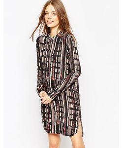 ASOS Africa | Платье-Рубашка С Абстрактным Принтом