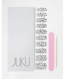 JUKU Nails | Прозрачные Наклейки Для Ногтей С Животным Принтом Juku