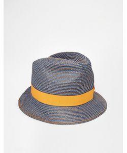 Catarzi | Соломенная Шляпа Синий