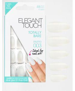 ELEGANT TOUCH | Накладные Ногти Totally Bare Stiletto Stiletto