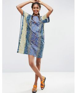 ASOS Africa | Платье-Футболка Свободного Кроя С Цветочным Принтом X Chichia