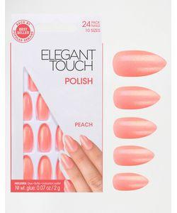 ELEGANT TOUCH | Накладные Ногти Stiletto Peach Peach