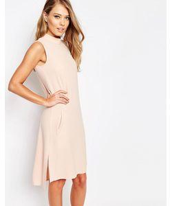 Closet London | Свободное Платье С Отворачивающимся Воротником Closet Телесный