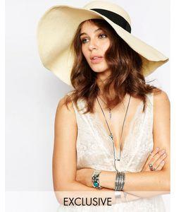 Catarzi | Соломенная Шляпа С Широкими Полями