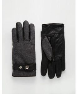 Peter Werth | Перчатки Из Кожи И Шерсти