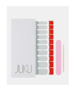 JUKU Nails | Наклейки Для Ногтей Красный Красный