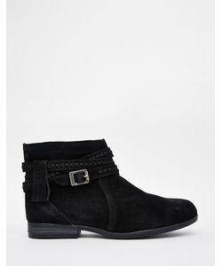 Minnetonka | Ботинки Dixon Черный Замшевый
