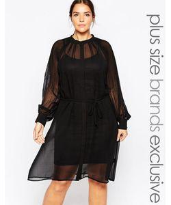 Carmakoma | Платье С Сетчатой Накладкой Premium