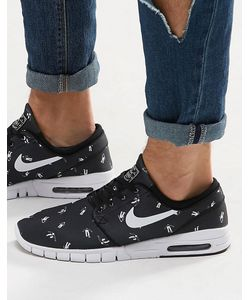 Nike SB | Кроссовки Stefan Janoski Max Premium 807497-010 Черный