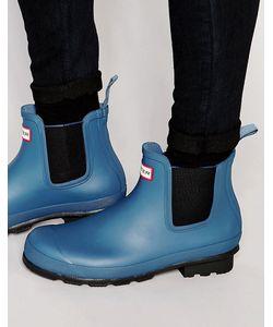 Hunter | Ботинки Челси Original Синий