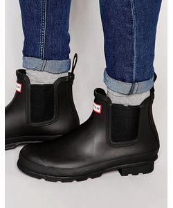 Hunter | Ботинки Челси Original Черный