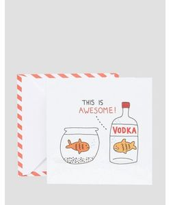 OHH DEER | Открытка Vodka Goldfish