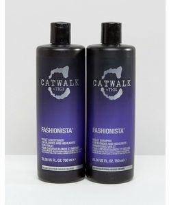 Tigi Catwalk | Комплект Из Двух Средств Ограниченной Серии Для Ухода За Волосами Tigi