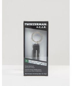 Tweezerman | Брелок С Набором Инструментов Серебряный
