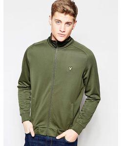 Lyle&Scott | Зеленая Спортивная Куртка Lyle Scott