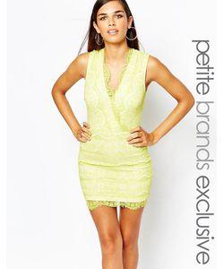 Lipstick Boutique Petite | Облегающее Кружевное Платье С Бахромой