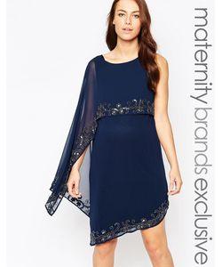 Maya Maternity | Платье Для Беременных С Декорированной Накладкой
