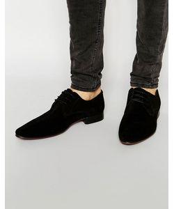 Asos | Черные Замшевые Туфли Дерби