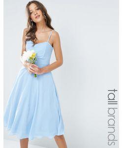 TFNC Tall | Шифоновое Платьебандо Миди Для Выпускного Wedding