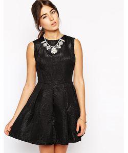 Hedonia | Короткое Приталенное Платье Lottie