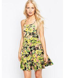 Hazel | Многослойное Платье С Цветочным Принтом