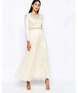 Rare Opulence | Платье Макси С Шипами