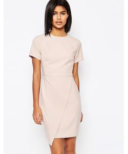 Asos | Асимметричное Платье Мини Телесный