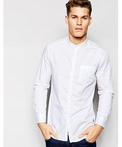 Esprit | Рубашка Зауженного Кроя С Воротником На Пуговице Белый