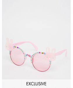 Spangled | Солнцезащитные Очки С Кроликами Розовый