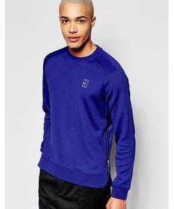 Nike | Темно-Синий Свитшот 744010-455 Темно-Синий