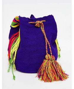 Jardin Del Cielo | Фиолетовая Сумка Wayuu